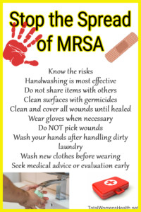 Stop the spread of MRSA